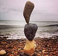 Stone Balancing In The Morning.jpg