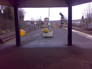 Stourbridge Town branch line - Image: Stourbridge Junction North