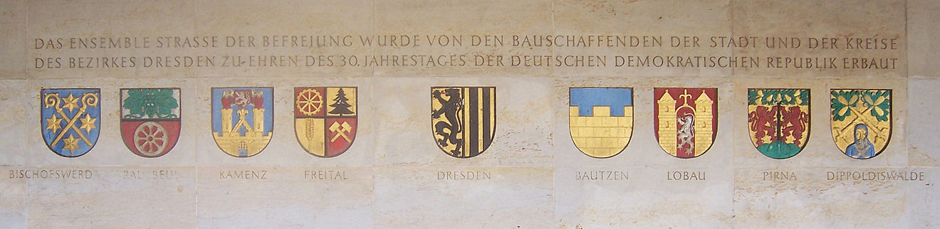 """""""Straße der Befreiung"""": Das Ensemble Straße der Befreiung ..."""