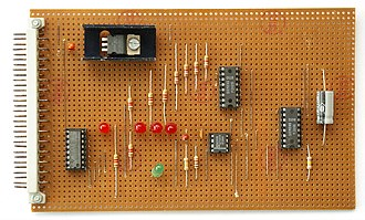 Stripboard - Image: Streifenrasterleiter platte IMGP5364