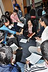 Students join the 'USAID and Higher Education in Vietnam' talk (8201284945).jpg