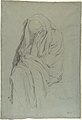 Study for Vieille Italienne(recto); Drapery Study (verso) MET DP810342.jpg