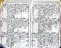 Subačiaus RKB 1827-1830 krikšto metrikų knyga 058.jpg
