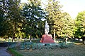 Subbotsi Monument to WW2 Warriors-Fellow-Villagers 01 Village Centre near Stores (YDS 2774).jpg