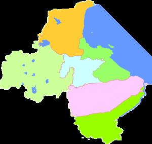 Lianyungang - Image: Subdivisions of Lianyungang, China