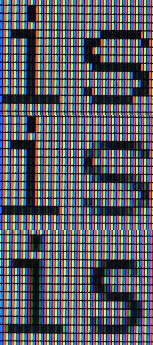 Subpixel rendering - Image: Subpixel Rendering LCD photo 3is composite