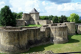 Moldavia - The Seat Fortress in Suceava, Romania