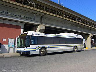 Suffolk County Transit - Image: Suffolk Transit Bus 8004