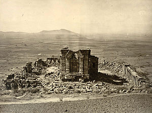 History of Kashmir - Image: Sun temple martand indogreek