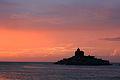 Sunrise at Vivekananda Rock Memorial.JPG