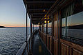 Sunset on Vättern lake, Sweden - photo picture image photography boat water reflection water (9586348944).jpg