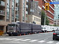 Support vehicles lined up for 'Covert Affairs', 2013 09 15 (2).JPG