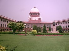 Building of the Supreme Court of India.