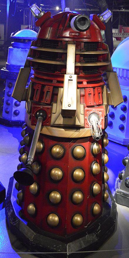 """Doctor Who Black Dalek Sec Metal Die Cast Model UK Exclusive 5/"""" Figure New"""