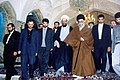 Supreme Leader Ali Khamenei in Shah Abdol Azim Mosque (4).jpg