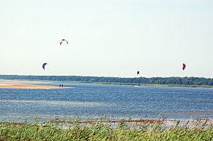 Nasva, Saare County - Kitesurfing in Nasva