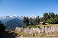 Svaneti Mountain House Near Mestia TV Tower-Namas kalnuose šalia Mestijos TV bokšto (3872444640).jpg