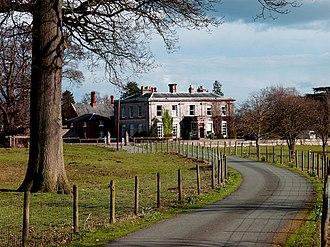 John Hiram Haycock - Sweeney Hall, Morda, Oswestry