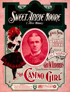 1901 in music - Image: Sweet Annie Moore