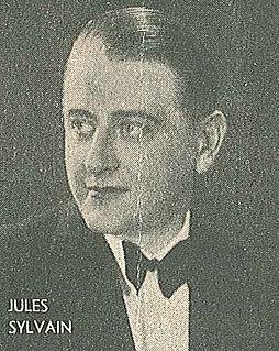 Jules Sylvain Swedish popular music composer