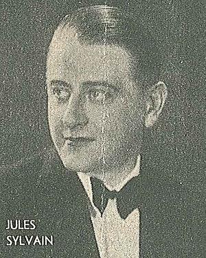 Jules Sylvain - Image: Sylvain, Jules (från nothäfte 1931)