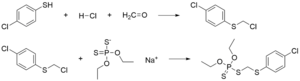 Carbophenothion - Image: Synthesis of carbophenothion wikipedia