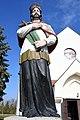 Szeged-Tápé, Nepomuki Szent János-szobor 2021 08.jpg