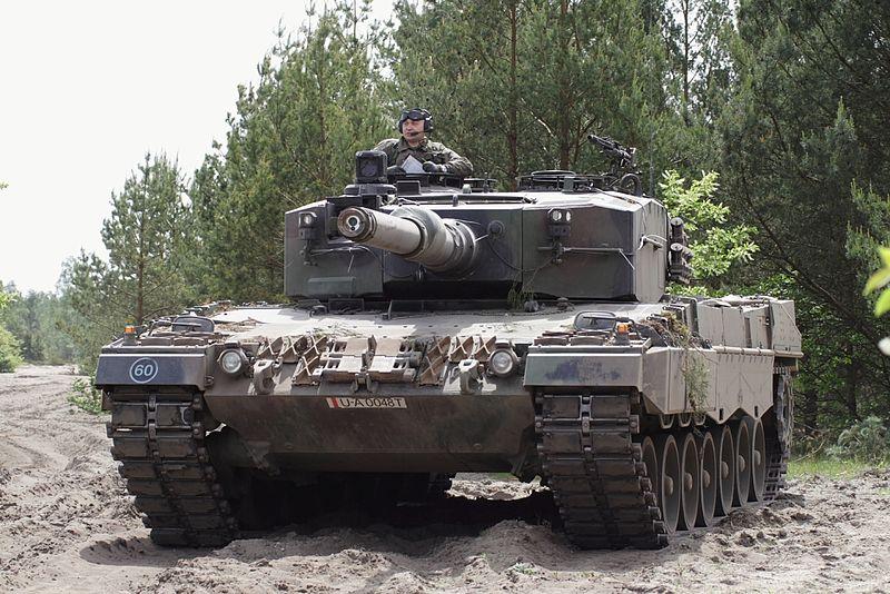 レオパルド2。ドイツ戦車は一味違う!
