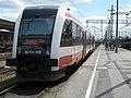 Szynobus SA134-008 na stacji Poznań Główny - czerwiec 2009.jpg