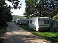 Tábořiště Vrcovice, stany s autokary (001).JPG