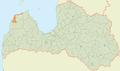 Tārgales pagasts LocMap.png
