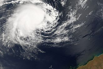 Timor Sea - Tropical cyclone Floyd over the Timor Sea, 2006