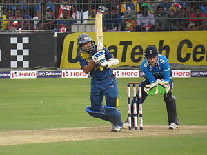 Tillakaratne Dilshan - TM Dilshan on his way to his 18th ODI century