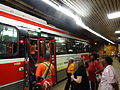 TTC streetcars at St Clair West station, 2015 07 10 (4) (19613122372).jpg
