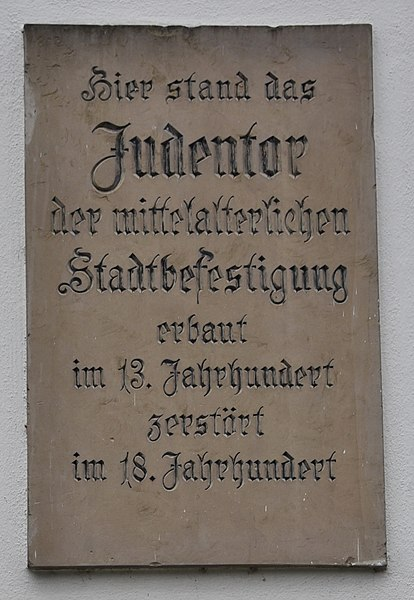 File:Tafel Judentor (Heidelberg).jpg