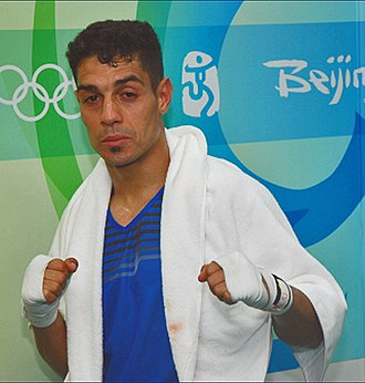 Tahar Tamsamani - Tamsamani at the 2008 Olympics