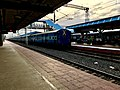 Tail of an Express train in Eluru railway station.jpg