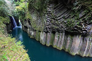 Takachiho, Miyazaki - Takachiho-kyo (gorge) and Manai waterfall