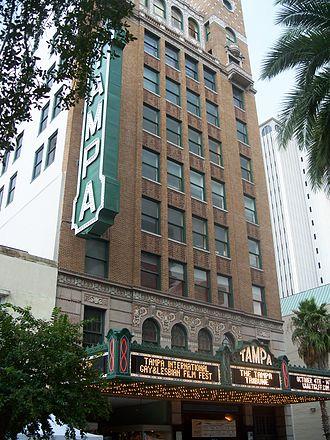 John Eberson - Image: Tampa Theatre front 05