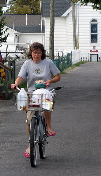 Tangier, Virginia - Typical transport on the island