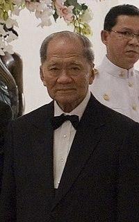 Thanin Kraivichien Thai politician