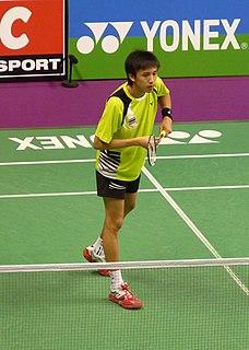 Tanongsak Saensomboonsuk Badminton player