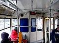 Tatra T3SUCS tram interior, Prague, 20050307.jpg
