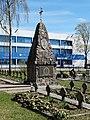 Tauragė, kapinės, paminklas.JPG