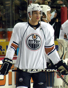 Image result for taylor hall rookie
