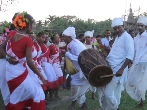 Tea Tribe Dance of Assam