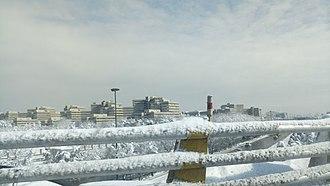 Ekbatan - Tehran's Ekbatan Town in snow