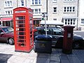 Telephone kiosk in Swanage High Street - geograph.org.uk - 887241.jpg