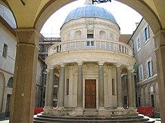 Tempietto di san pietro in montorio, roma, 1502, oleh bramante