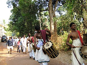 Chalad - Temple Procession in Chalad